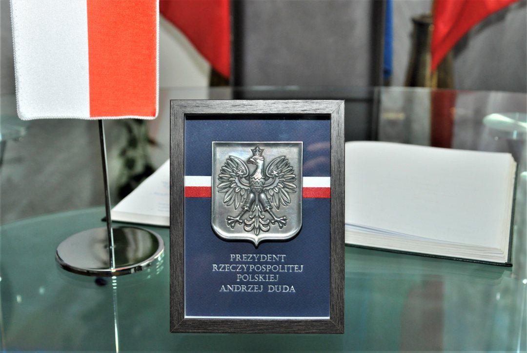 Prezydent Andrzej Duda złożył podziękowania dla Komendanta CSWL Drawsko