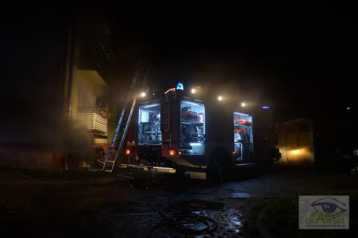 Pożar mieszkania na ulicy Ratuszowej