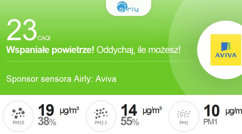 Pomiar jakości powietrza w gminie Drawsko Pomorskie
