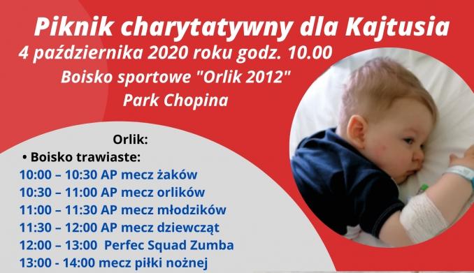 Piknik charytatywny dla Kajtusia!!!