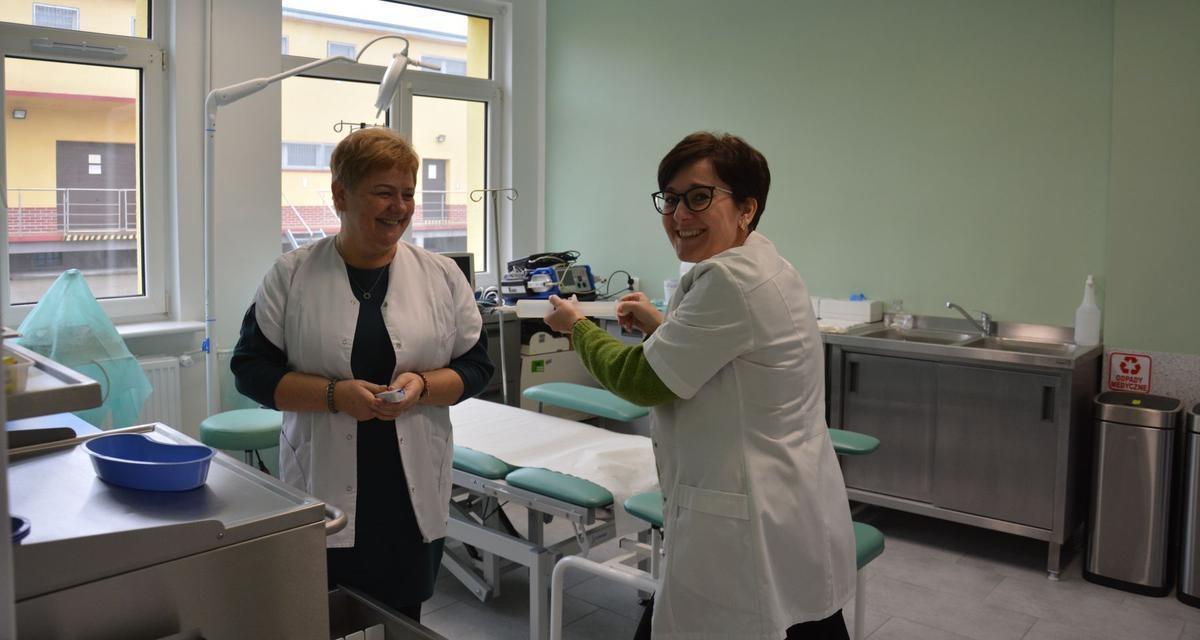 Nowe życie budynku ambulatorium i izby chorych 16 Wojskowego Oddziału Gospodarczego w Olesznie