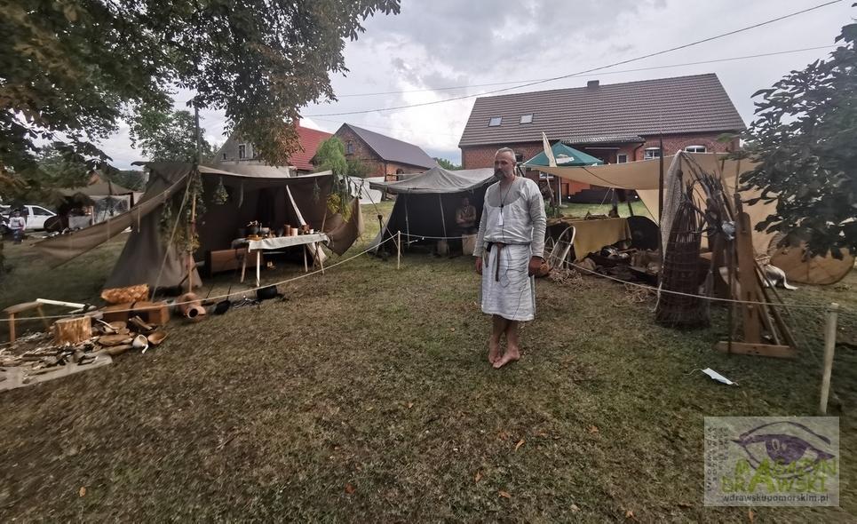 Tradycyjnie już gościliśmy na Jarmarku Średniowiecznym w Zółtem nad jez. Zarańsko.