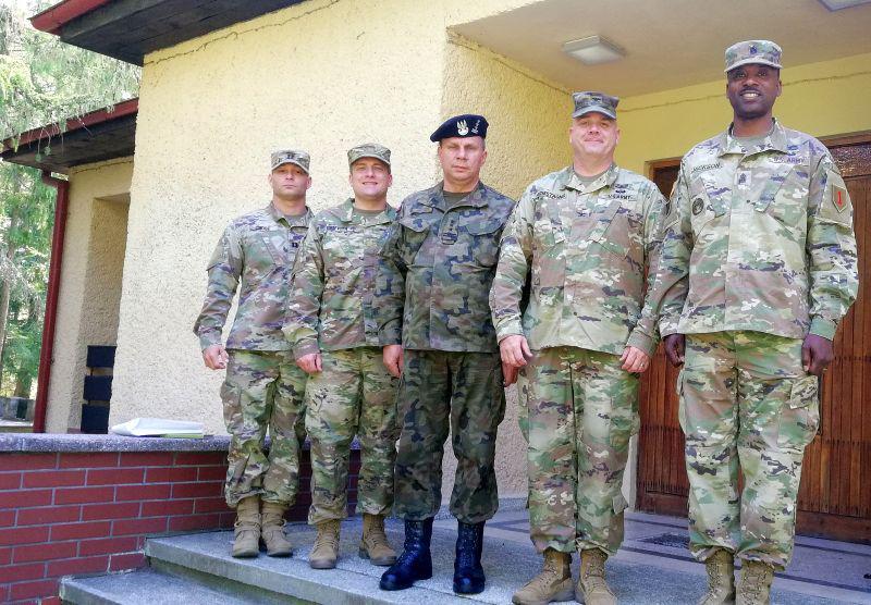 Spotkanie z DOWÓDCAMI US ARMY