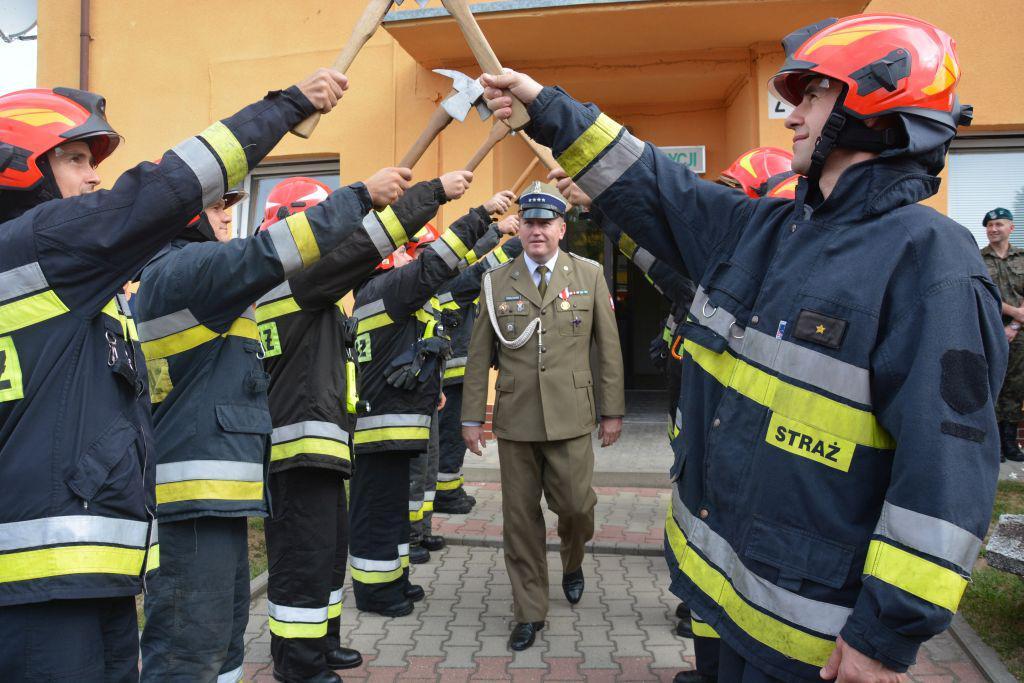 Pożegnali Komendanta Wojskowej Straży