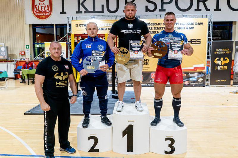 Siłacze z medalami na Mistrzostwach Polski