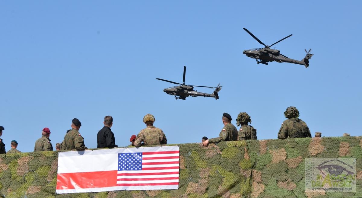 Polsko-amerykańskie ćwiczenia obserwował szef MON-u Mariusz Błaszczak