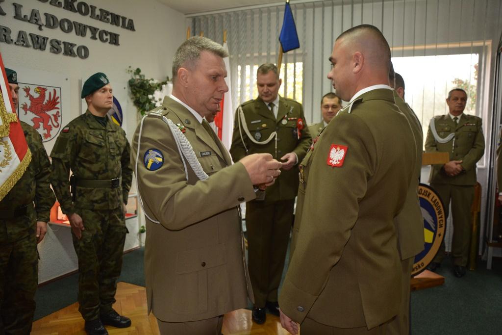Awanse, odznaczenia i medale dla żołnierzy CSWL Drawsko