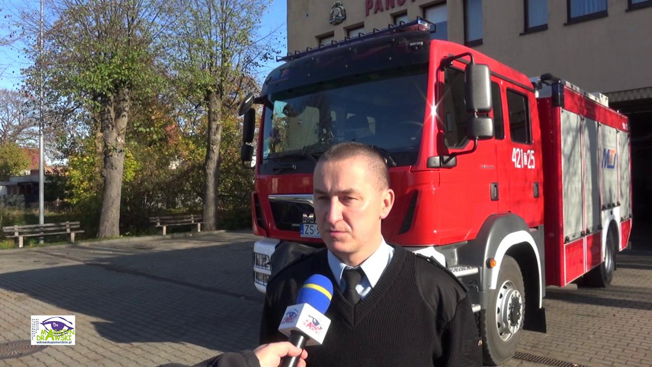 Czy służby ratunkowe są gotowe? Rozmowa z Andrzejem Podolakiem Zastępcą Komendanta PPSP  w Drawsku Pomorskim
