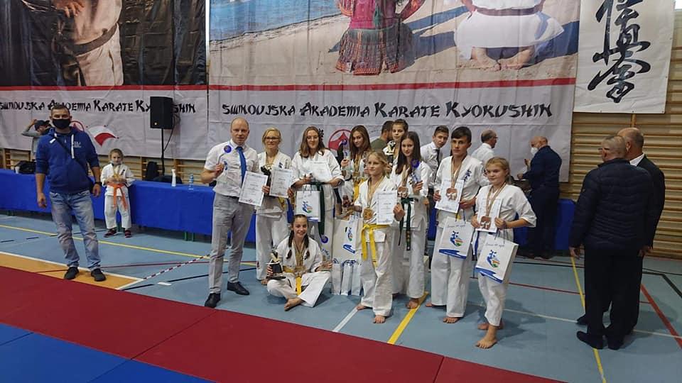 Sukces na Międzynarodowym Turnieju Karate Kyokushin w Świnoujściu