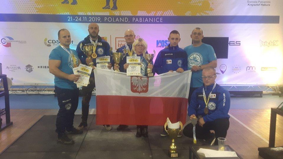 Siłacze nie zawiedli na Mistrzostwach Europy