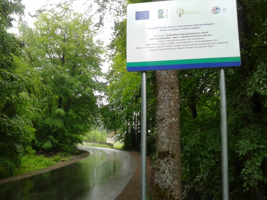 Kolejny odcinek drogi przebudowany