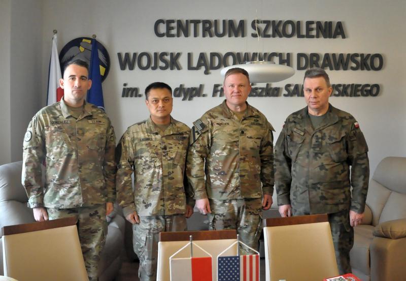 Na poligonie w Drawsku Pomorskim rozpoczynają się szkolenia wojsk ARMII AMERYKAŃSKIEJ