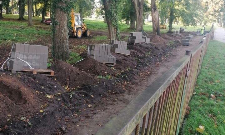 Będzie nowe ogrodzenie na DRAWSKIM cmentarzu