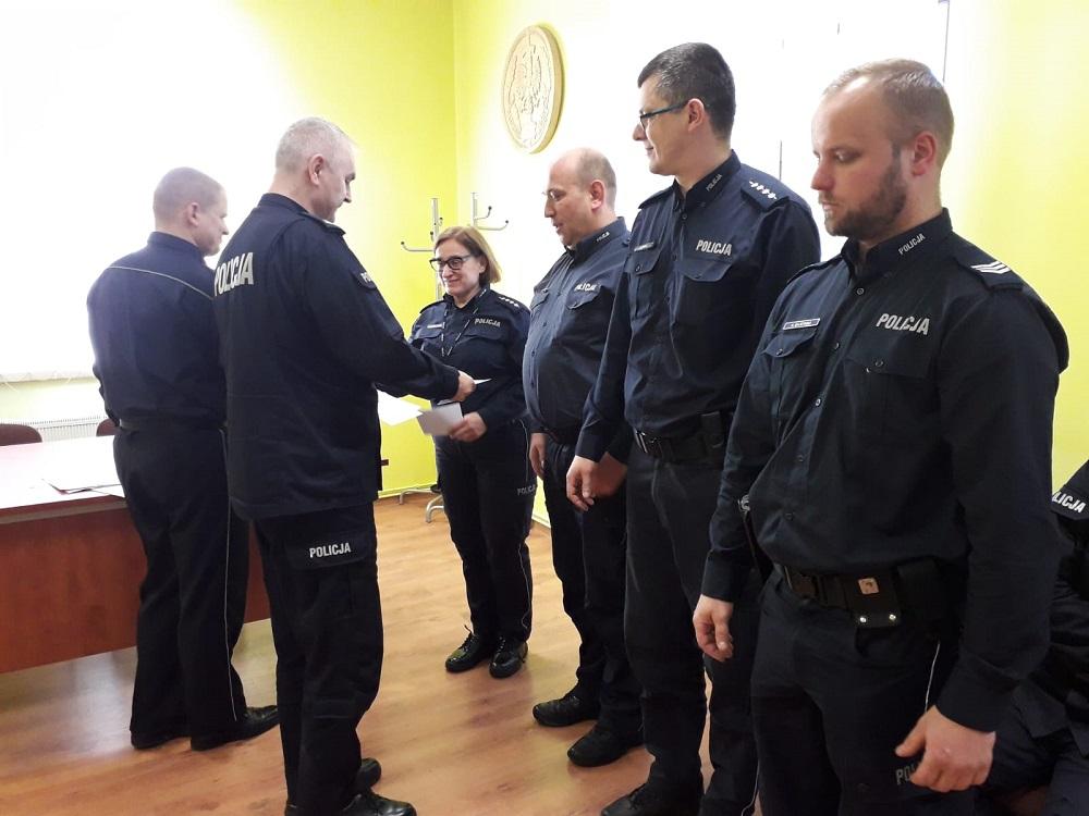 Wyróżnienia dla policjantów z Powiatu Drawskiego