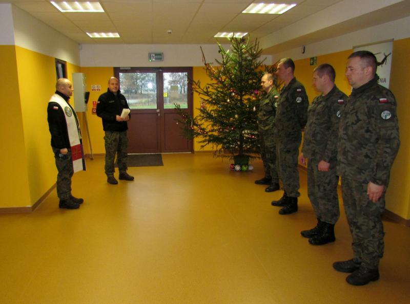 Spotkanie opłatkowe w Centrum Szkolenia Wojsk Lądowych Drawsko inna niż zawsze