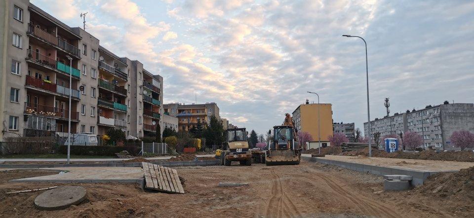 Prace budowlane na ul. Mickiewicza osiągnęły już półmetek