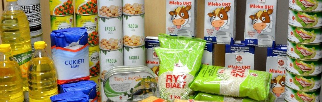 Pomoc żywnościowa - ważna informacja