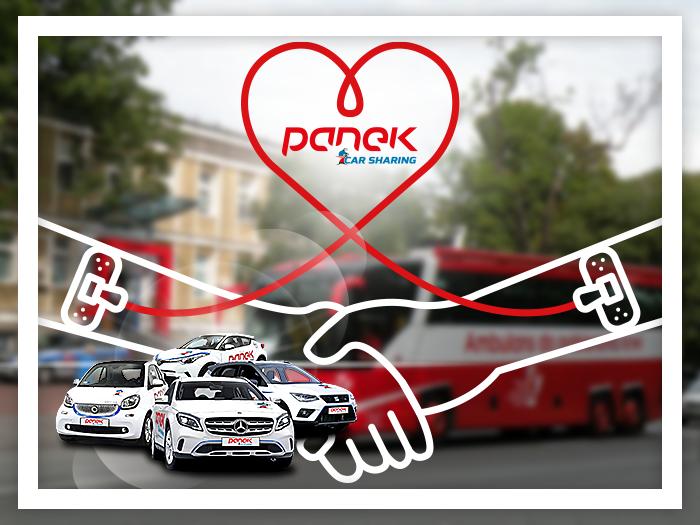 Oddaj krew z PANEK CarSharing