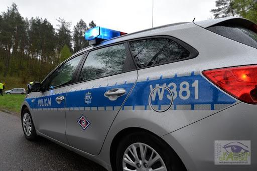 [DW 173] Droga zablokowana - trwa wyciąganie pojazdu