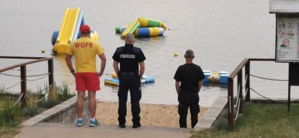Wspólne patrole WOPR i Straży Miejskiej