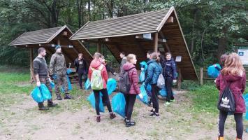 Posprzątaliśmy tereny Nadleśnictwa Drawsko i poligonowe lasy