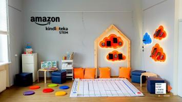 Amazon STEM Kindloteka w drawskiej bibliotece