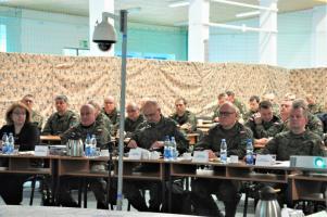 CSWL Drawsko - odprawa koordynacyjna do ćwiczenia DEFENDER EUROPE - 20