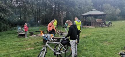 Przejazd rowerem z Burmistrzem Drawska Pomorskiego
