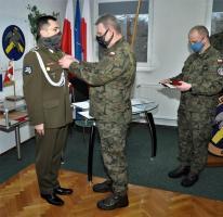 Wyjątkowe odznaczenie i awanse w Centrum szkolenia Wojsk Lądowych Drawsko