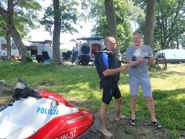 Policyjne działania na wodach POWIATU DRAWSKIEGO