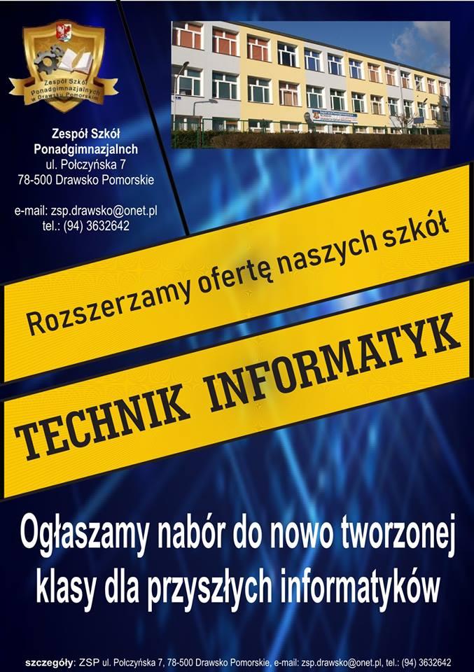 Klasa - Technik Informatyk